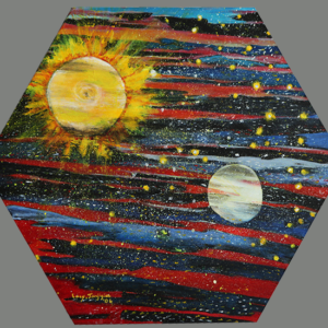 Creation, Day 4: Sun, Moon, and Stars